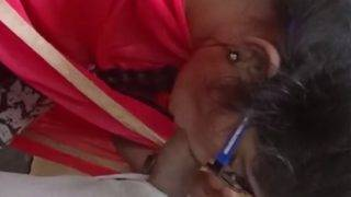 Indian GF cock blowing video
